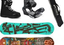 pack de snowboard